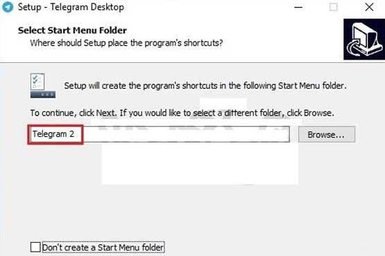 استفاده همزمان از چند تلگرام در ویندوز