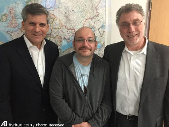 دیدار جیسون رضاییان با دبیران روزنامه واشنگتن پست(+عکس)