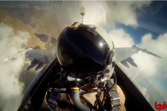 جنگنده اف 35 مسلح از داخل کابین خلبان (+عکس)