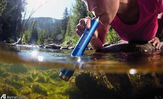 نوشیدن آب پاک در هرکجا با لایفاستراو استیل