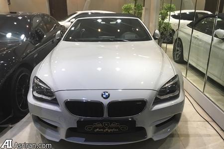 BMW  دو میلیارد تومانی در تهران (+عکس)