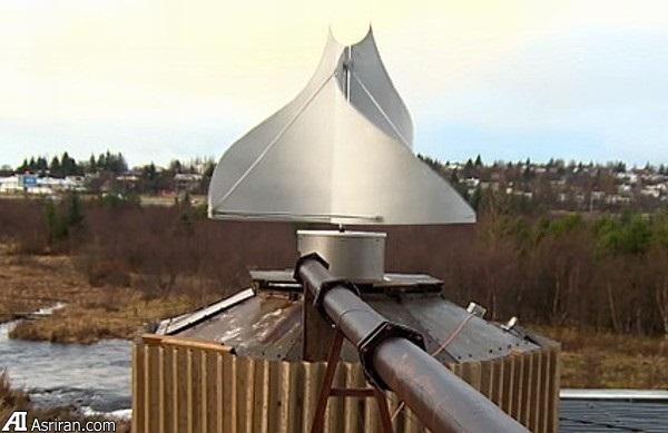 معرفی نوع جدیدی از توربین بادی در ایسلند
