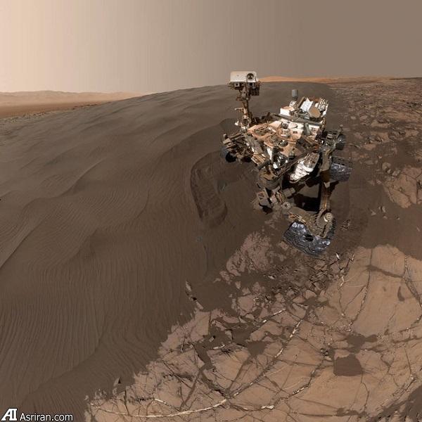 یک سلفی دیگر از «کنجکاوی» در مریخ