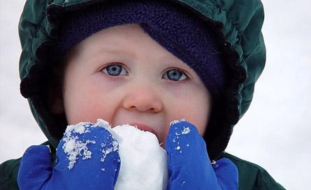 آیا میشود برف را خورد؟