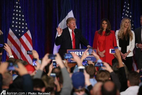 شکست ترامپ در نخستین انتخابات درون حزبی جمهوریخواهان