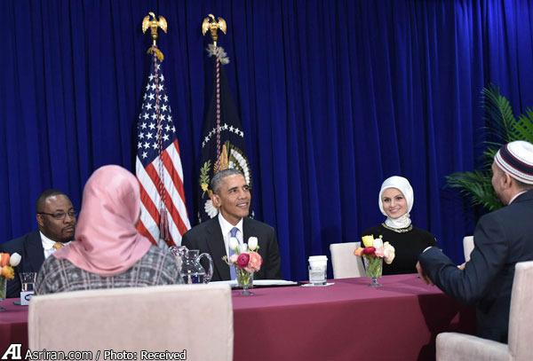 اوباما: اسلام دین صلح و مودت است/ اکثریت مسلمانان صلح طلب هستند/ قرآن با