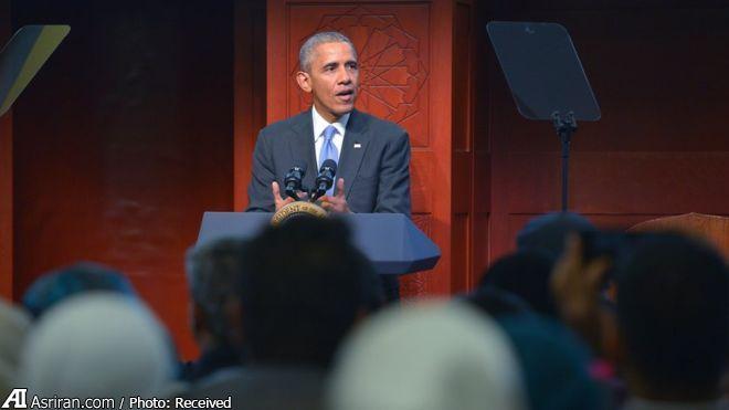 اوباما: اسلام دین صلح و مودت است/ مسلمانان در ساختن آمریکا نقش داشته اند/ قرآن با