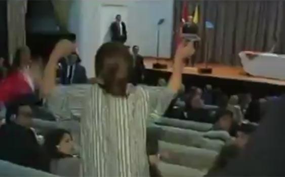 جنجال رفتار خشن محافظان اردوغان در سفر به اکوادور (+عکس)