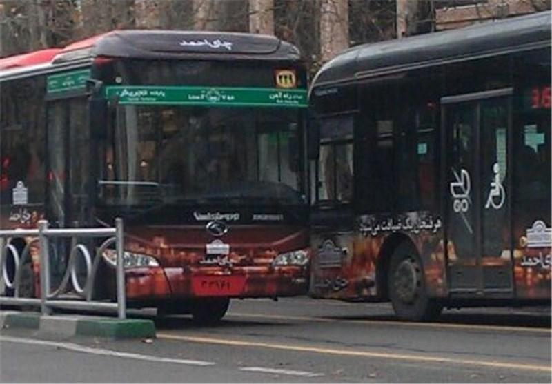 هشدار رئیس پلیس راهور ناجا به اتوبوسهای BRT بدون پلاک