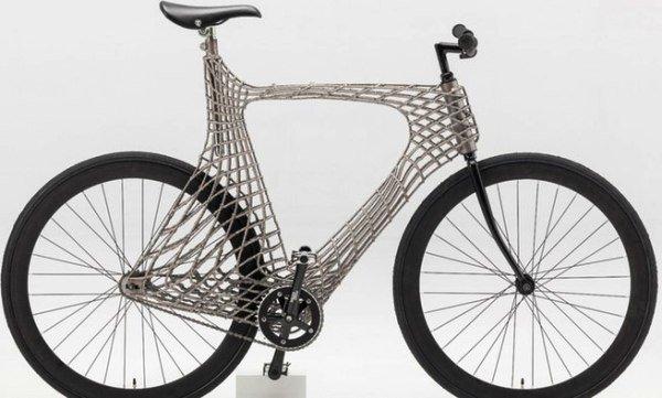 تولید دوچرخه ای متفاوت با چاپ سه بعدی