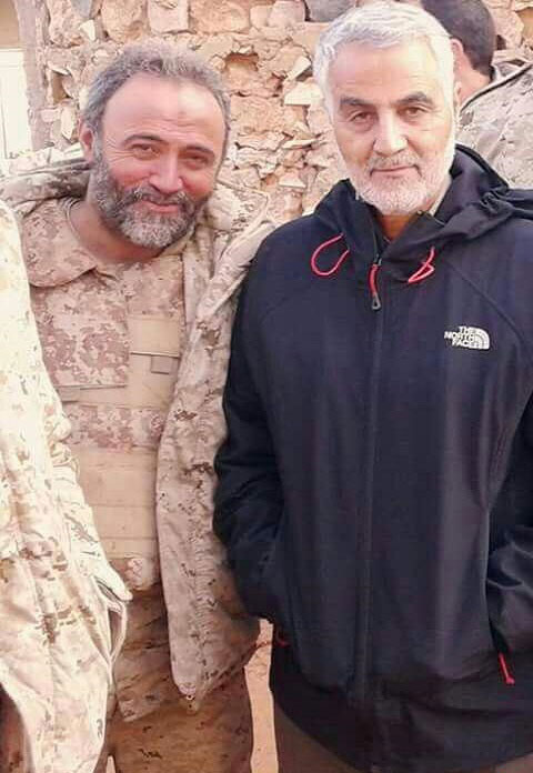 سردار سلیمانی با تیپ اسپرت در شمال حلب (+ عکس)