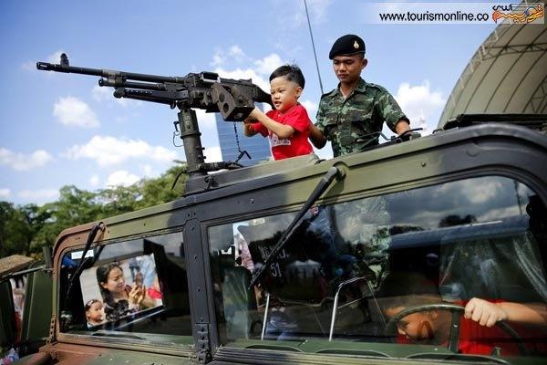 روز کودک متفاوت در بانکوک (+عکس)