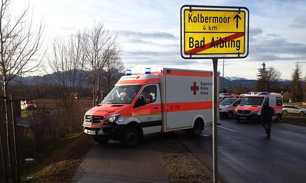 تصادف دو قطار در آلمان چند کشته و 100 زخمی بر جای گذاشت