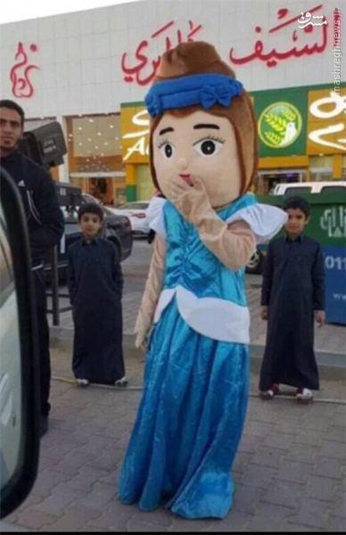 دستگیری یک عروسک در عربستان به علت بیحجابی (+عکس)