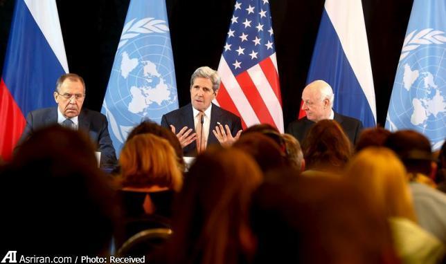 توافق نیم بند آمریکا و روسیه برای برقراری آتش بس در سوریه