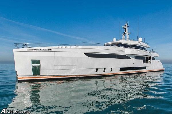 قایق تفریحی 28 میلیون دلاری که از برق نیرو می گیرد