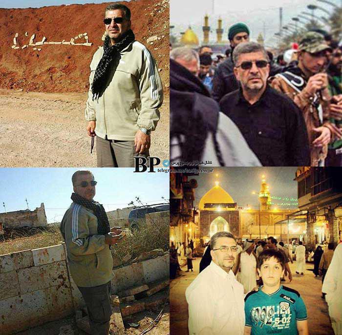 شهادت فرمانده سابق لشکر 27 محمد رسول الله تهران در جنگ سوریه