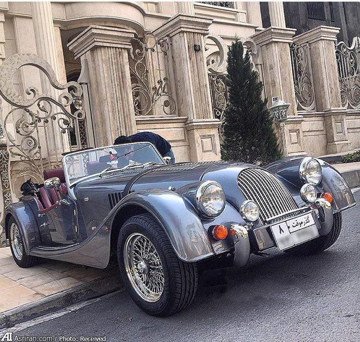 یک خودروی بسیار خاص در ایران (+عکس)