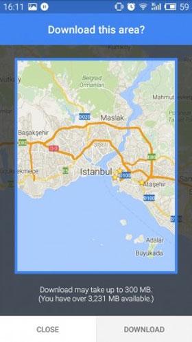 چگونه نقشه آفلاین را به Google Maps اضافه کنیم؟