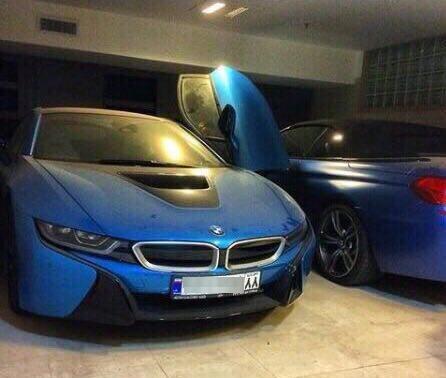 BMW I8 با اخذ پلاک ملی 500 میلیون تومان افزایش قیمت در بازار یافت