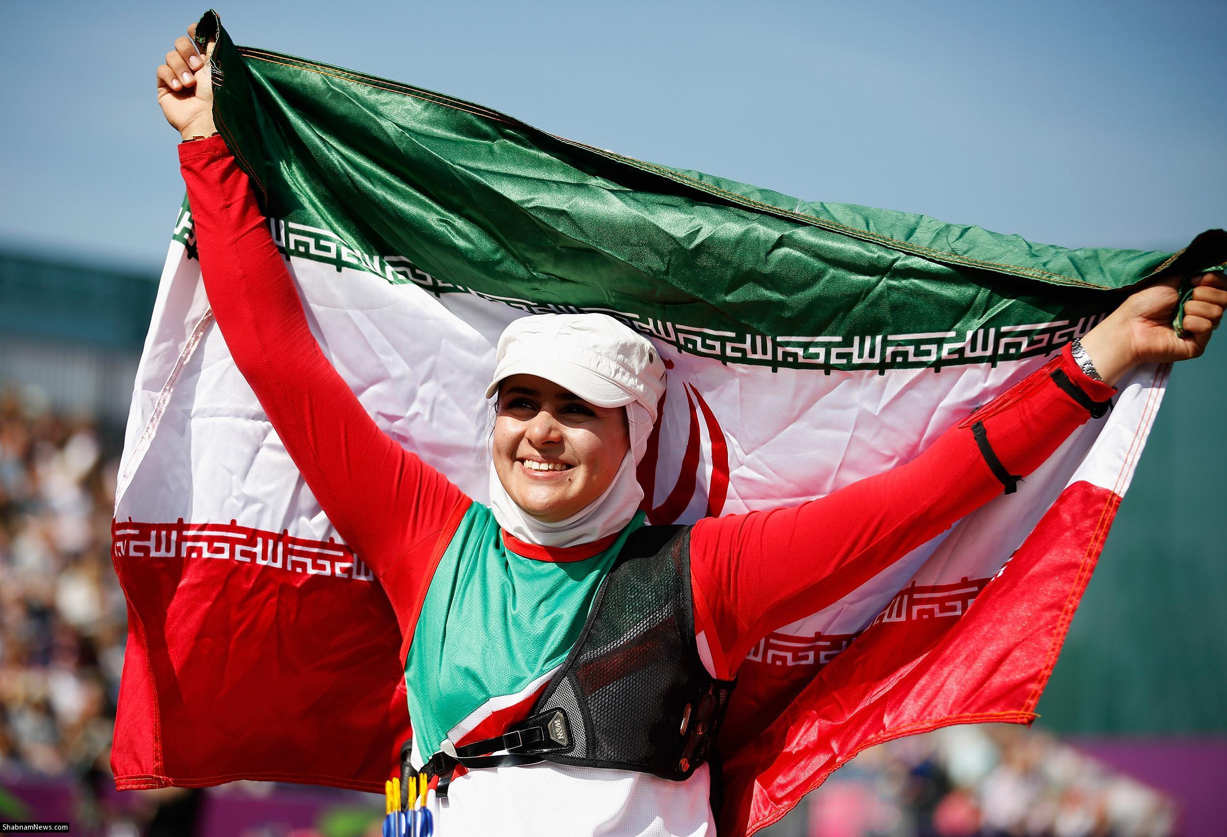 زهرا نعمتی پرچمدار کاروان ایران در المپیک شد(+عکس)