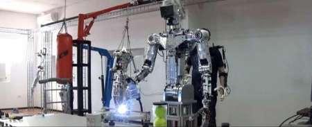 ربات های انسان نما در راه فضا