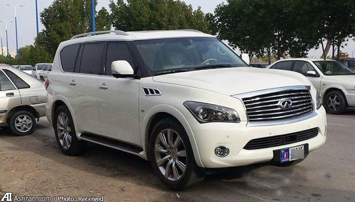 خودروی لوکس و شاسی بلند ژاپنی در ایران (+عکس)