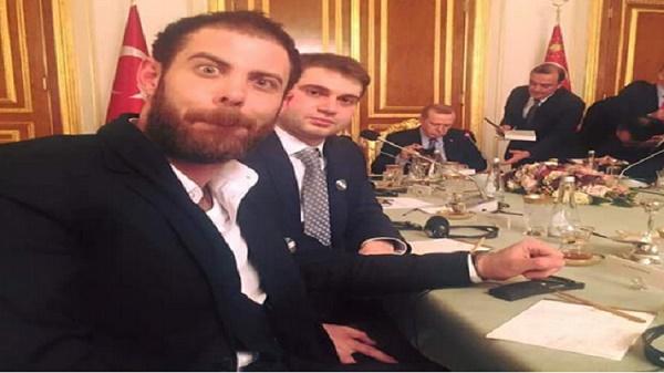 سلفی جنجالی با اردوغان (+عکس)