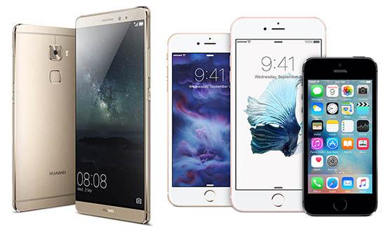 فروشندگان برتر موبایلهای هوشمند در سال 2015