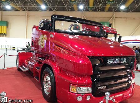 رونمایی از کامیون کروک در نمایشگاه صنعت خودروی تهران (+عکس)
