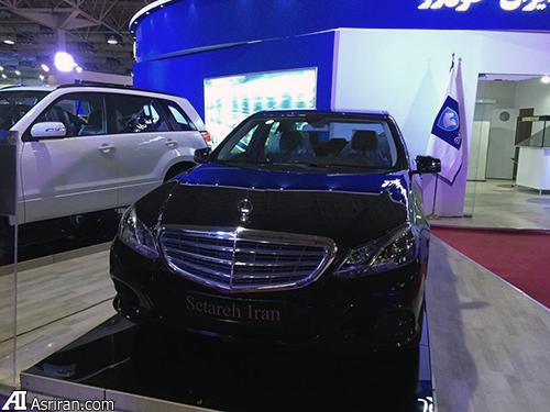 سواری بنز ایران خودرو رونمایی شد (+عکس)