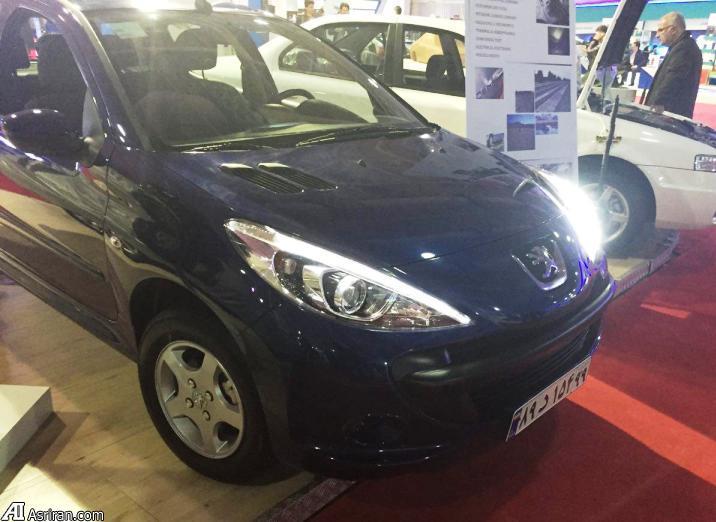 پژو 207 جدید در نمایشگاه خودروی تهران (+عکس)