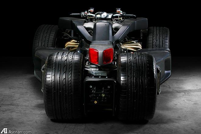 لازارت وازوما V12؛ موتورسیکلت 12 سیلندر!