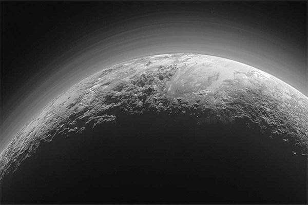 پیدا شدن ابر در پلوتو