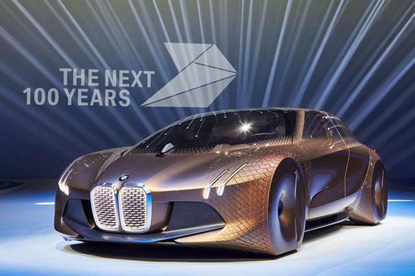 مشخصات بی ام و عکس خودرو زیبا شرکت بی ام و BMW Vision Next 100