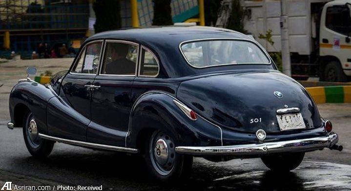 با ارزش ترین کلاسیک BMW درایران (+عکس)