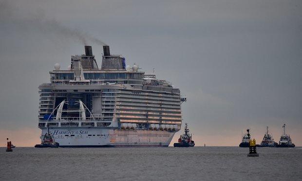 بزرگترین کشتی تفریحی جهان به آب انداخته شد
