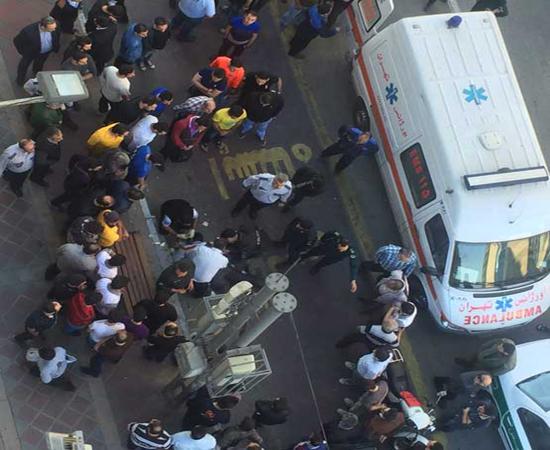 خودکشی جوان 30 ساله در پاساژ پایتخت (+عکس)