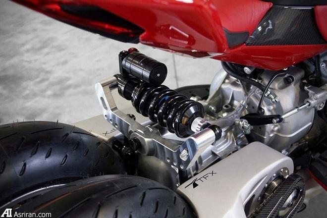 موتورسیکلتی با قلب تپینده مازراتی!