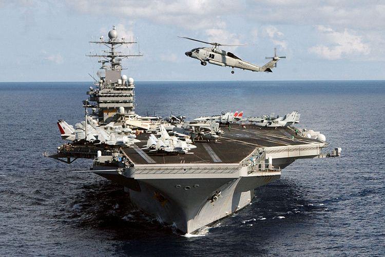 رسانه ها: اعزام ناوهواپیمابر آمریکا به یمن برای مقابله با کشتی های ایران/ پنتاگون: تکذیب می شود