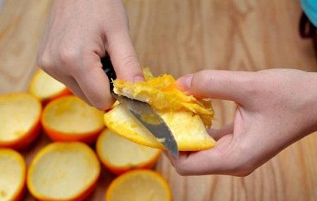 پوست پرتقال ,وکاربردهای جالب فراوان ان