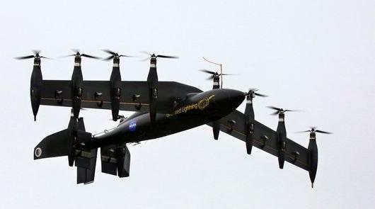آذرخش کشنده ناسا با ترکیب بالگرد و هواپیما