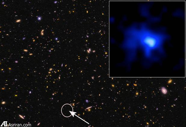 کشف دورترین کهکشان به زمین (+عکس)