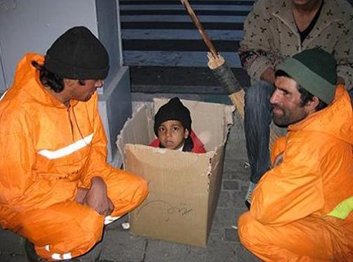 کارتنخوابی کودکان در تهران!