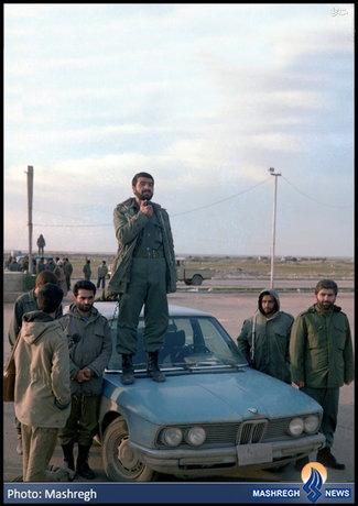 محل متفاوت سخنرانی فرمانده سپاه (عکس)