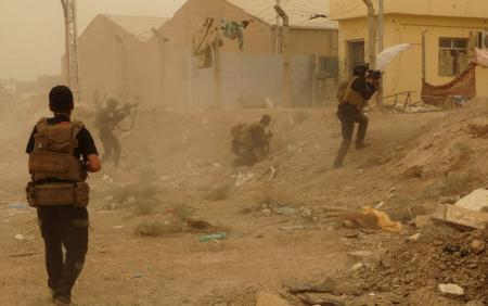 عقب نشینی ارتش عراق/ سقوط شهر