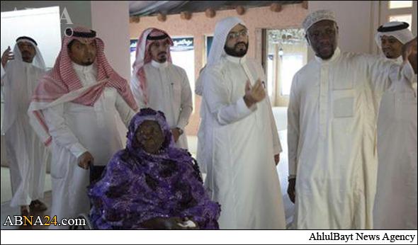 مادر بزرگ اوباما به عمره رفت (عکس)