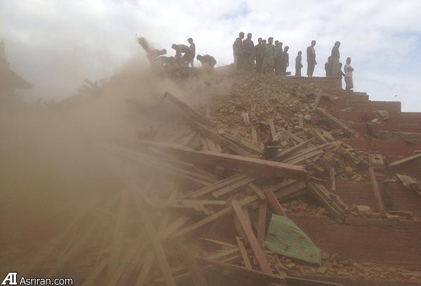 تلفات گسترده زلزله مهیب 7.9 ریشتری در پایتخت نپال(+عکس)