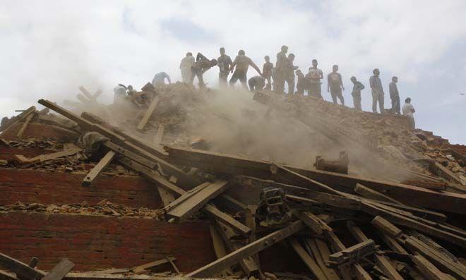 زلزله 7.9 ریشتری نپال: 449 کشته تا این لحظه