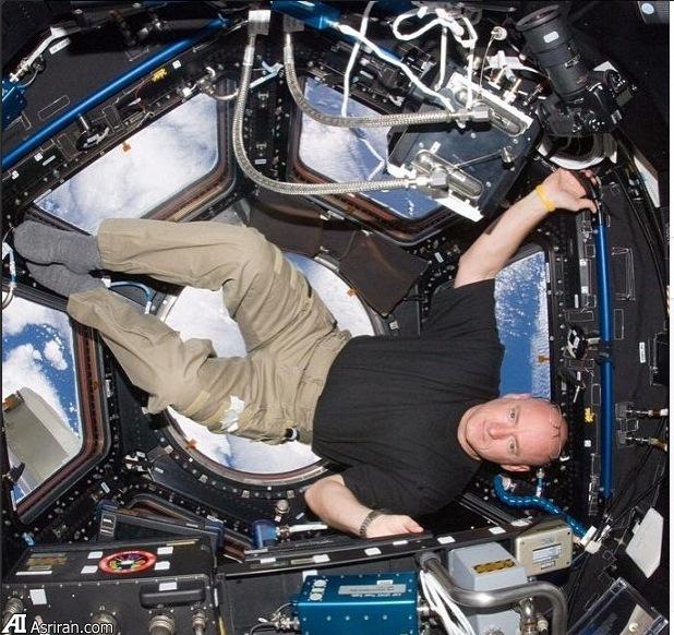 تصاویر اینستاگرامی یک فضانورد از ایستگاه فضایی